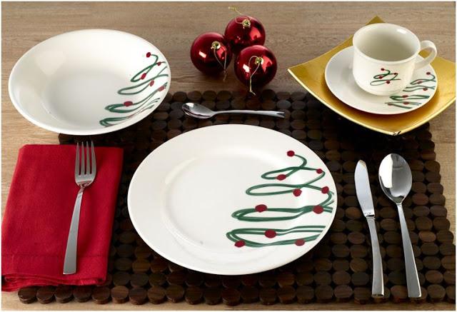 vajilla de navidad decora decora