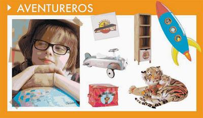 Decoración para niños aventureros