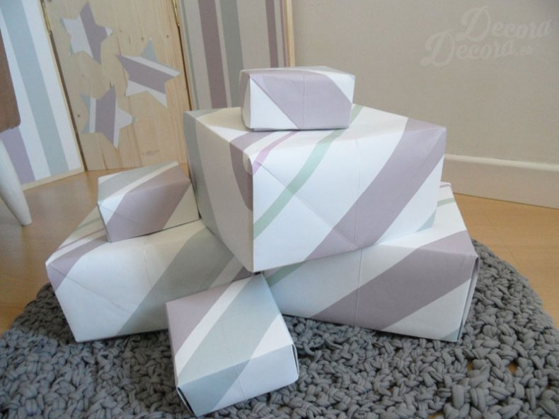 Qué hacer con papel de pared