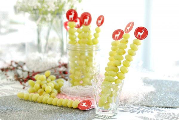 Ideas para las uvas en Nochevieja