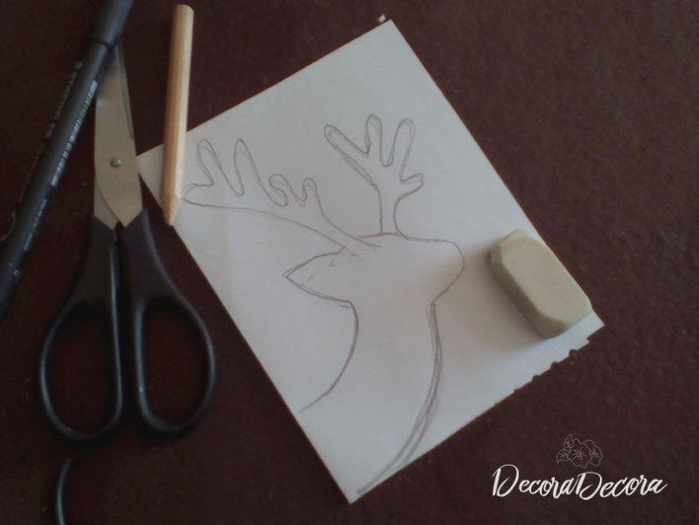 Cómo hacer un reno