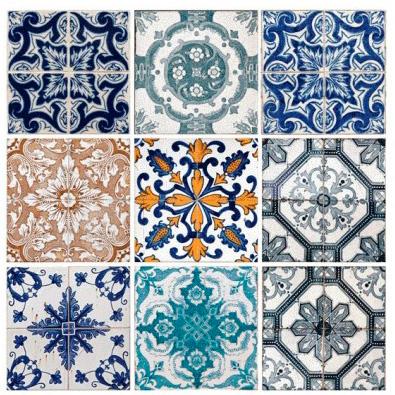 Cabecero de azulejos