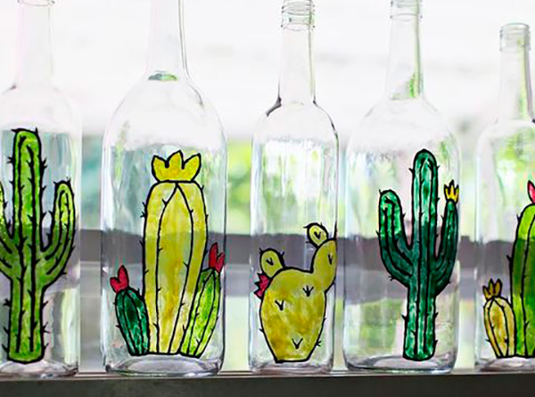 Reciclar y decorar con botellas
