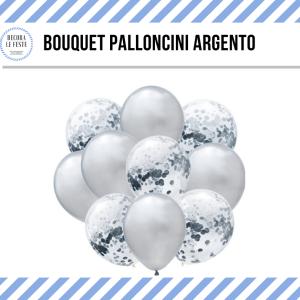 palloncini argento