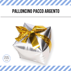 palloncino pacco regalo
