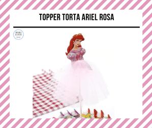 topper cake ariel