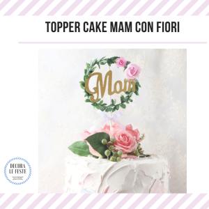 topper cake mamma
