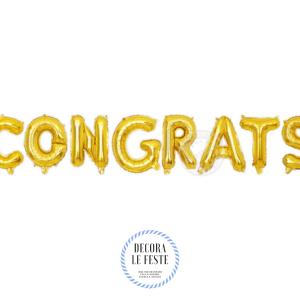 palloncino congrats