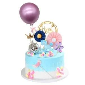decorazione torta palloncino