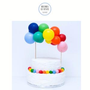 topper cake palloncini