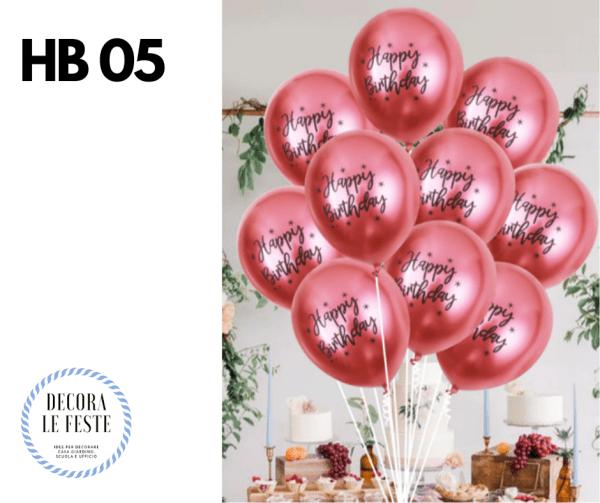 palloncini rosa antico