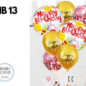 set palloncini compleanno