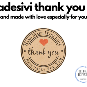 adesivi thank you