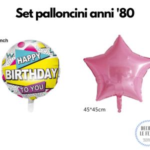 palloncini anni 80