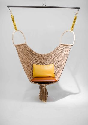 Objets-nomades swing chair for Louis Vuitton