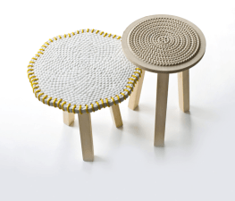 Nat-(f)use side tables by Budri