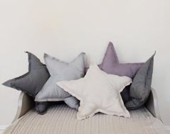 17. DIY star pillows