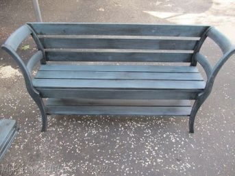 16. DIY Double chair bench