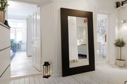 Oversize framed extra large mirror