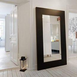 Oversize framed extra large mirror