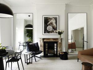 Oversize floor mirrors