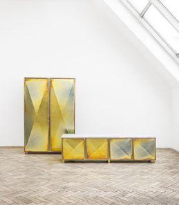 Zinc Cabinets by Jan&Henry