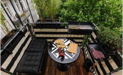 Barbacoas portátiles perfectas para balcones