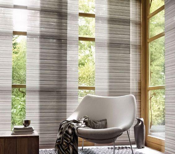 Decora tus ventanas con paneles japoneses