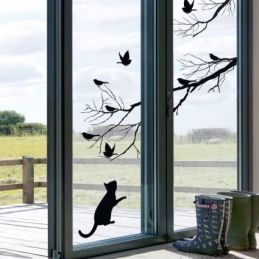 Decora tus ventanas con vinilos