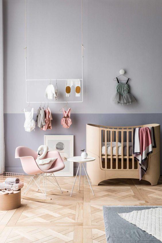 Gris para niños-perfecto en habitaciones de bebés