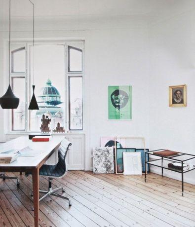 Casa en Copenhagen - despacho una mesa
