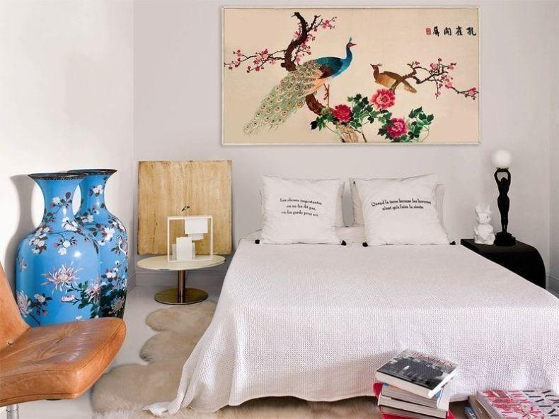 Casa ecléctica y vintage - dormitorio con toques orientales