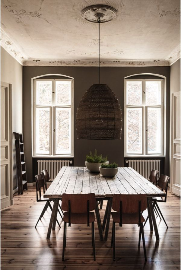 Comedor diseñado por Annabell Kutucu en Berlín