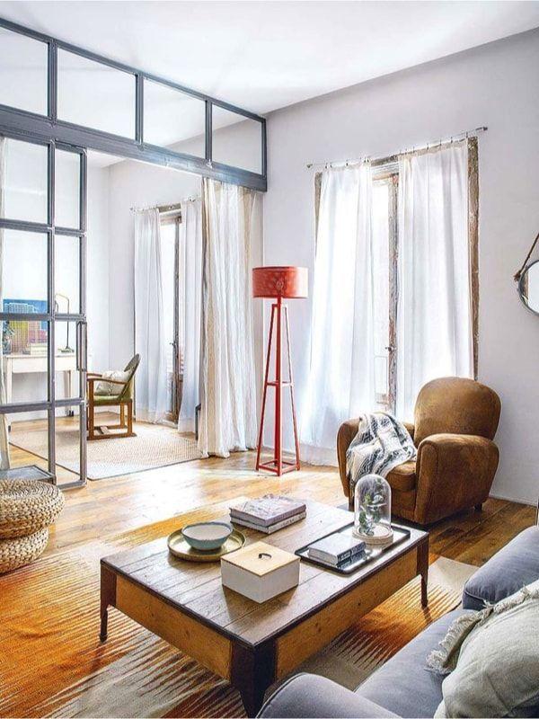 dormitorio extra o despacho en loft de autor