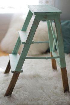 escalera actualizada con chalkpaint