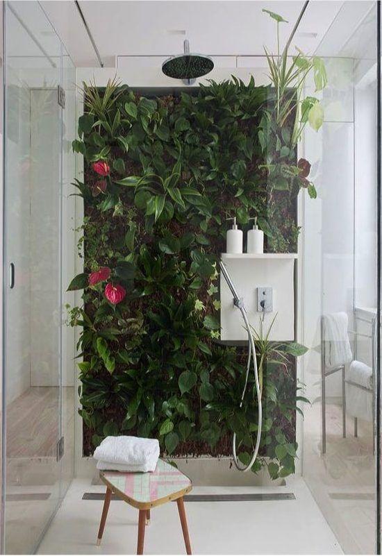 jardin vertical dentro de casa