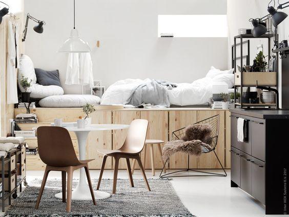 ivar furniture - get a platform for your bed and storage
