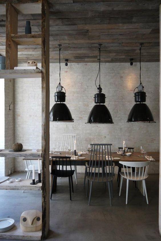 Combinar sillas - Hay J models at Host restaurant in Copenhagen