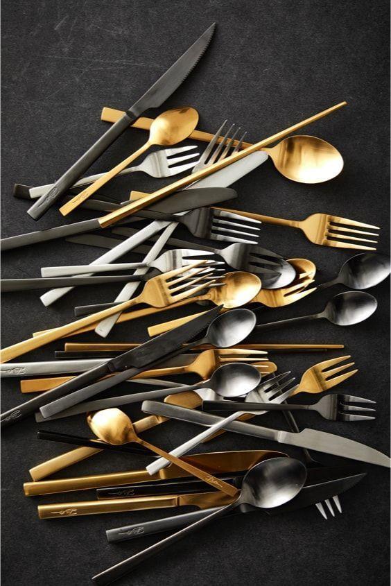Bright cutlery by Bitz