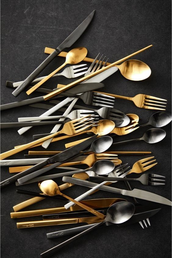 Bright cutlery by Bitz