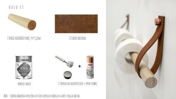 diy : toilet paper holder