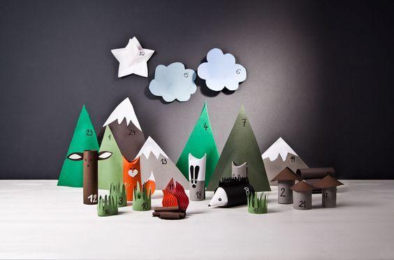 calendarios de adviento - advent calendar for kids