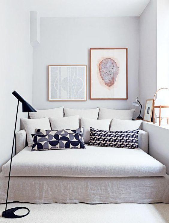 apartamento sofisticado - chaise longue como cama