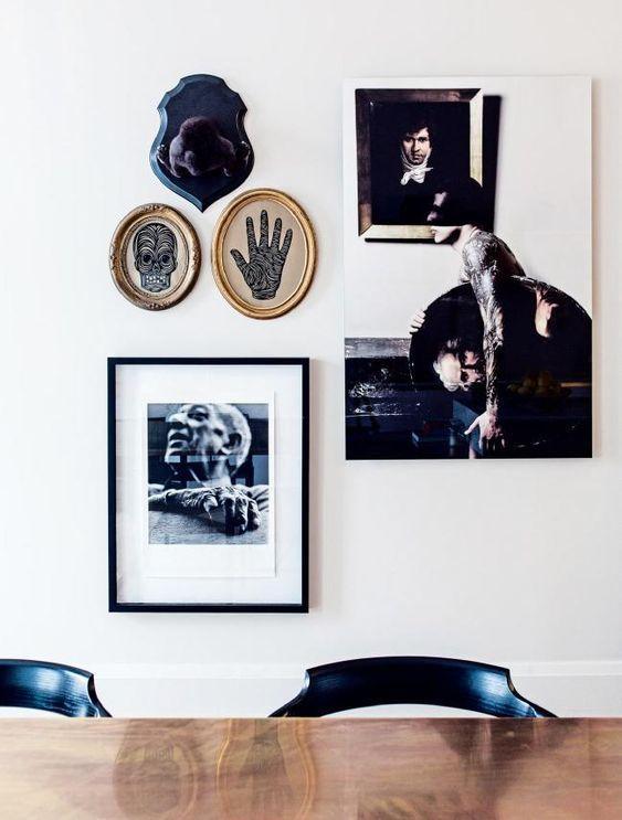 apartamento sofisticado - galeria arte en la cocina