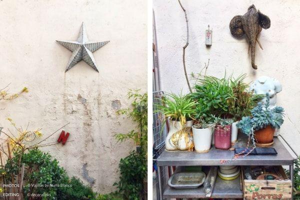 En casa de Nuria Blanco - patio