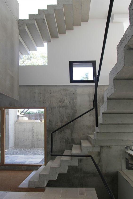escaleras Abaton en hormigon