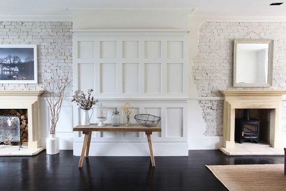 actualizar casa de campo - textura en columna