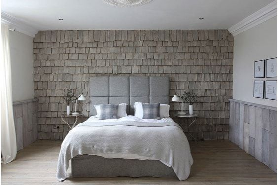 actualizar casa de campo - pared madera