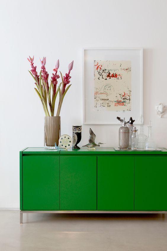 Aparador verde hierba de Maicon Antoniolli