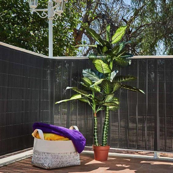 decoralinks| sistemas para ocultar terraza - fibras artificiales